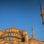Sultanahmet Moon - Istanbul, Turkey
