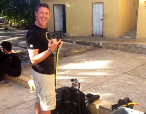 Setting up Dive Gear