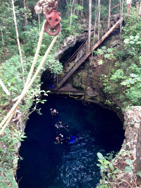 El Pit Cenotes.  A beautiful place for cavern and cave diving